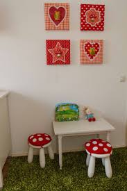 Polka Dot Kids Rug by Comely White Kids Room With Small Coffee Table Set Plus Cute Red