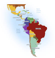 Central And South America Blank Map by Cartography Maps America Jamaica Circa 2000 Central America Sfm