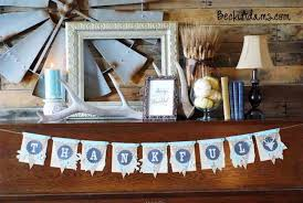 thanksgiving burlap banner 16 diy burlap crafts for fall and fall holidays shelterness