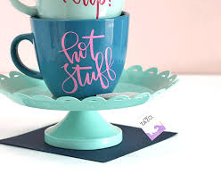 how to diy personalized mugs and tea cups lou