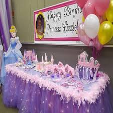 Decorate Table For Birthday Party Outdoor Girls Party Decorating Ideas Idea For Little Princess