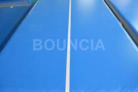 15m blue gymnastics air track air mattress gymnastics with