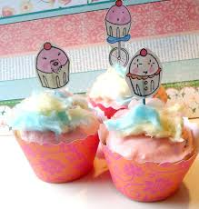 cotton candy cupcakes from cakespy