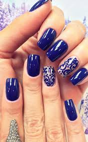 15 best nails images on pinterest blue and silver nails blue