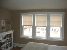 kitchen window treatments roman shades decor window ideas