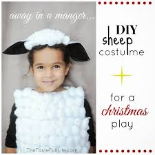 diy sheep and cow costumes for my church s recital