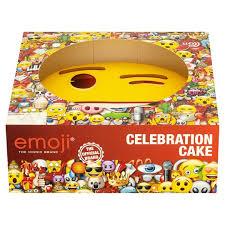 emoji celebration cake tesco groceries