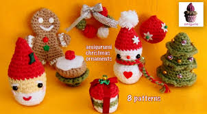amiguria amigurumi 8 amigurumi christmas patterns