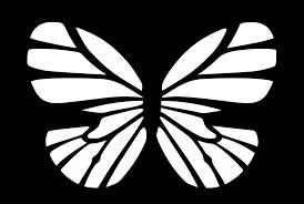 monarch butterfly black white clip art at clker com vector clip