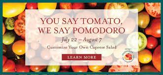 you say tomato we say pomodoro at eataly nyc flatiron eataly
