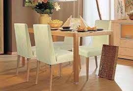 Stylish Stools And Dining Chairs  Dining Furniture Design Trends - Light wood kitchen table