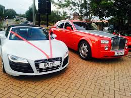rolls royce gold and red aud r8 v10 spider u0026 red rolls royce phantom car pictures