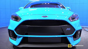 Home Design Exterior And Interior 2016 Ford Focus Rs Exterior And Interior Walkaround 2015 New