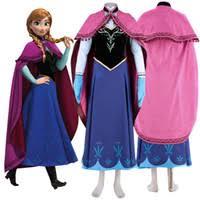 Princess Anna Halloween Costume Wholesale Princess Anna Costume Adults Buy Cheap Princess