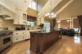 30 kitchen island 31 custom white kitchens with wood islands