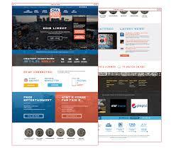 website homepage design cma music festival st8mnt brand agency