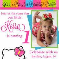 create 1st birthday invitation card for free justsingit