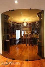 curved wine cellars custom curved wine cellars