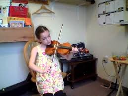 Blind Violinist Famous Charlize Three Blind Mice Youtube