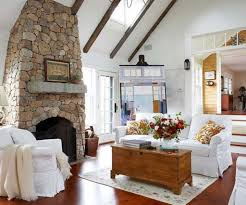 Cozy Living Rooms by Cozy Living Room With Faux Fireplace And Brown Wall Colors And