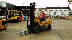 d20659 tcm fg25n4 5k pneumatic forklift youtube