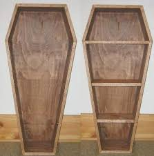 how to build a coffin halloween prop or bookcase make