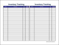 Simple Inventory Sheet Template Free Printable Inventory Sheets Here Is A Preview Of The Simple