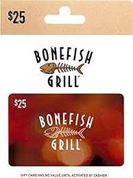 bonefish gift card bonefish grill gift card 25 gift cards