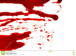 free halloween images on white background halloween concept blood splatter on white background stock