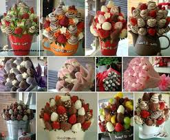 chocolate covered fruit baskets 37 best fruit bouquet images on sweet treats food