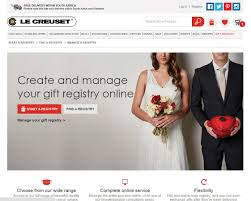bridal registry website le creuset step by step how to set up a gift registry