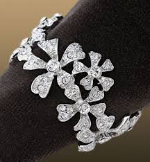 platinum crystal rings images Swarovski crystal napkin ring set l 39 object antique platinum jpg