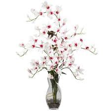 artificial flower home decor home decoration decorative white fake floral arrangements with