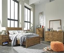 Ashley Furniture Mattress Fennison Twin Size Panel Bed B544 Ashley Furniture Kids