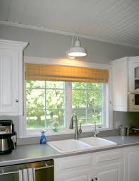 Kitchen Sink Lighting by Kitchen Sconce Lighting A Wall Niche Is Enhanced With Sconces E