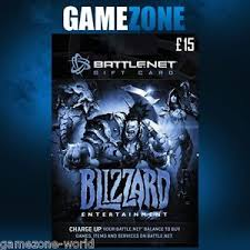 battlenet prepaid card 15 battle net gift card key 15 gbp pounds uk battle net blizzard