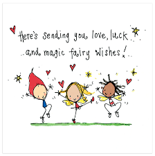 here s sending you luck and magic wishes