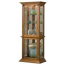 Pulaski Curio Cabinet Used Amazon Com Pulaski Curio 18 By 11 By 70 Inch Brown Kitchen