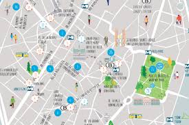 map brussels a map of potable water fountains city of brussels