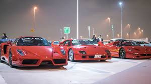 jdm car meet this parking lot in tokyo will bring all your car fantasies to life