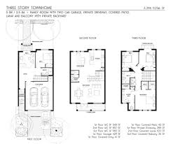 3 story townhouse floor plans 3 story townhouse floor plans ahscgs