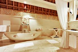 Balinese Home Decorating Ideas Viceroy Resort Bali With Contemporary Oval Marble Freestanding