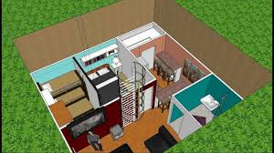 bunker home done in google sketchup youtube