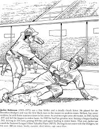 Robin Coloring Page Funycoloring Jackie Robinson Coloring Page
