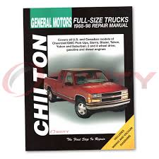 chevy c1500 chilton repair manual base scottsdale silverado wt