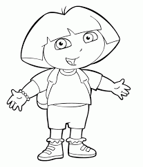 dora printables coloring pages coloring