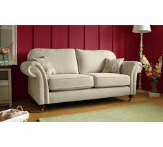 Sofa Buy Uk Buy Heart Of House Windsor High Back Large Fabric Sofa Cream At