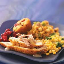 stuffed thanksgiving belly turkey with vegetable sausage stuffing recipe taste of home