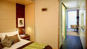 Bed And Living Contemporary Accommodation At Park Plaza County Hall London