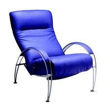 Modern Recliner Chair Billie Contemporary Recliner With Silver Base Lafer Recliners Billie